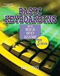 Basic Keyboarding for the Medical Office Assistant with CDROM (Basic Keyboarding for the Medical Office Assistant) Cover