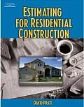 Estimating for Residential Construction (06 - Old Edition)