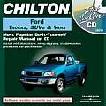Total Car Care CD-ROM: Ford Trucks, Suvs & Vans, 1986-2000 Jewel Case