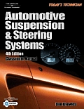 Todays Technician Shop Manual for Automotive Suspension & Steering Systems 2 volumes 4th Edition