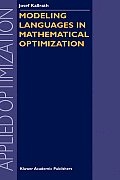 Modeling Languages in Mathematical Optim Cover
