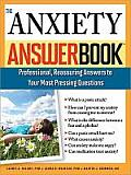 The Anxiety Answer Book Cover