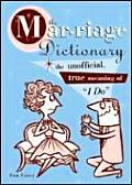 Marriage Dictionary by Tom Carey - Powell's Books