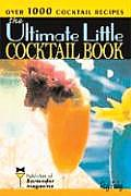 The Ultimate Little Cocktail Book Cover