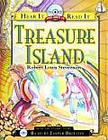 Treasure Island with CD (Hear It Read It Classics)