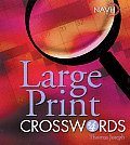 Large Print Crosswords #4 (Large Print)