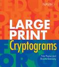 Large Print Cryptograms (Large Print)