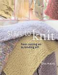 Start To Knit From Casting On To Bindi