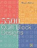 5500 Quilt Block Designs