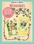 Memories of a Lifetime: Weddings: Artwork for Scrapbooks & Fabric-Transfer Crafts Cover