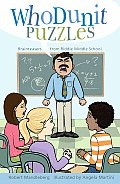 Whodunit Puzzles: Brainteasers from Riddle Middle School Cover