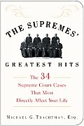 Supremes Greatest Hits The 34 Supreme Court Cases That Most Directly Affect Your Life