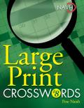 Large Print Crosswords #08: Large Print Crosswords #8 (Large Print)