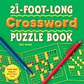 21 Foot Long Crossword Puzzle Book