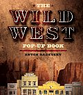 Wild West Pop Up Book with Freestanding Action Figures