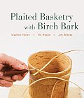 Plaited Basketry with Birch Bark Cover