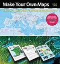 Make Your Own Maps: 160 Color Maps Ready to Personalize on Your Computer with CDROM