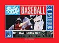 USA Today Baseball Scorebook Includes 100 Scorecards