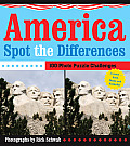 America Spot the Differences: 100 Photo Puzzle Challenges