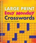 Large Print Easy Monday Crosswords