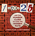 1 to 25 Use the Number Clues to Find the Hidden Path