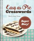 Easy as Pie Crosswords Super Easy