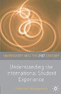 Understanding the International Student Experience (Universities Into the 21st Century)