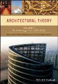 Architectural Theory, Volume II (08 Edition)