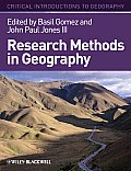 Critical Introductions to Geography #6: Research Methods in Geography: A Critical Introduction