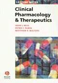 Clinical Pharmacology & Therapeutics (Lecture Notes)