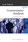 Conversation Analysis An Introduction