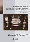 Indo-European Language and Culture: An Introduction (Blackwell Textbooks in Linguistics) Cover