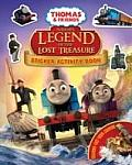 Sodor's Legend of the Lost Treasure Thomas Movie Sticker Book