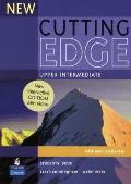 New Cutting Edge Upper Intermediate Students Book and CD-rom Pack