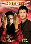 Dr Who Tattoo Activity Book Cover