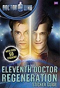 Dr Who Eleventh Doctor Regeneration Sticker Guide