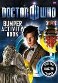 Doctor Who Bumper Activity Book Cover