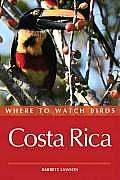 Where to Watch Birds Costa Rica