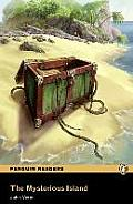 Mysterious Island, Level 2, Pearson English Reader Book with Audio CD [With CD (Audio)]