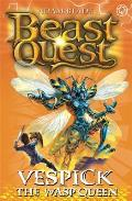 Beast Quest: 36: Vespick the Wasp Queen [With Collector Cards]
