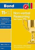 Bond 11Plus Test Papers Non-verbal Reasoning Standard Pack 2