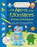 My Aliens & Monsters Sticker Storybook