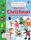 My First Christmas Sticker Activity Book