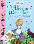 Alice in Wonderland Activity and Sticker Book