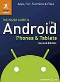 The Rough Guide to Android Phones and Tablets (Rough Guide To?) Cover