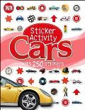 Sticker Activity Cars