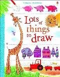 Usborne Book of Lots of Things To Draw