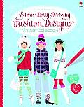 Fashion Designer Winter Collection Sticker Dolly Dressing