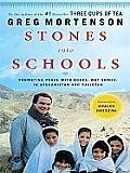 Stones Into Schools: Promoting Peace with Books, Not Bombs, in Afghanistan and Pakistan (Large Print) (Thorndike Basic)