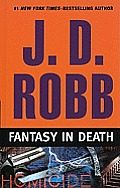 Fantasy in Death (Large Print) (Wheeler Hardcover) Cover